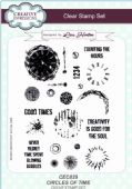Creative Expressions - Circles of Time A5 Clear Stamp Set - CEC829